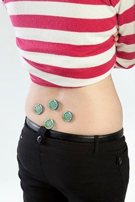 Lower Back Pain Treatment with Magnetic Therapy using Q2806 Magnets