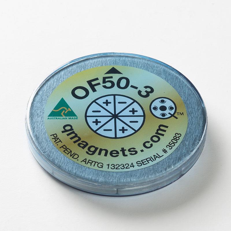 OF50-3 Octapolar magnet; 50mm x 3mm