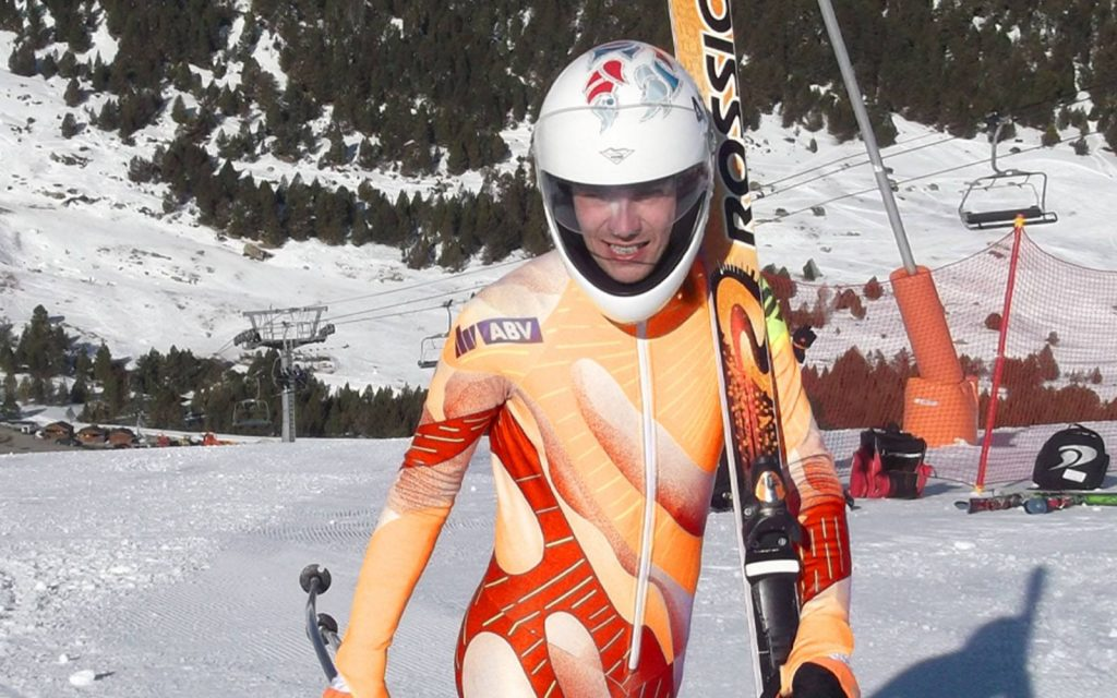 Silvano Meli - Speed Skier - Magnetic Therapy review - Q Magnets used
