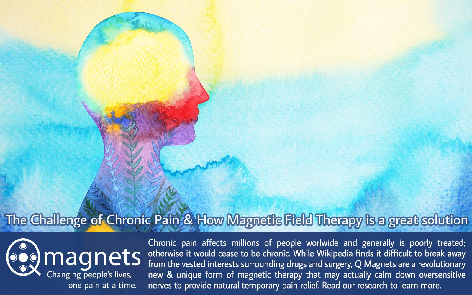 chronic pain treatment with magnetic therapy