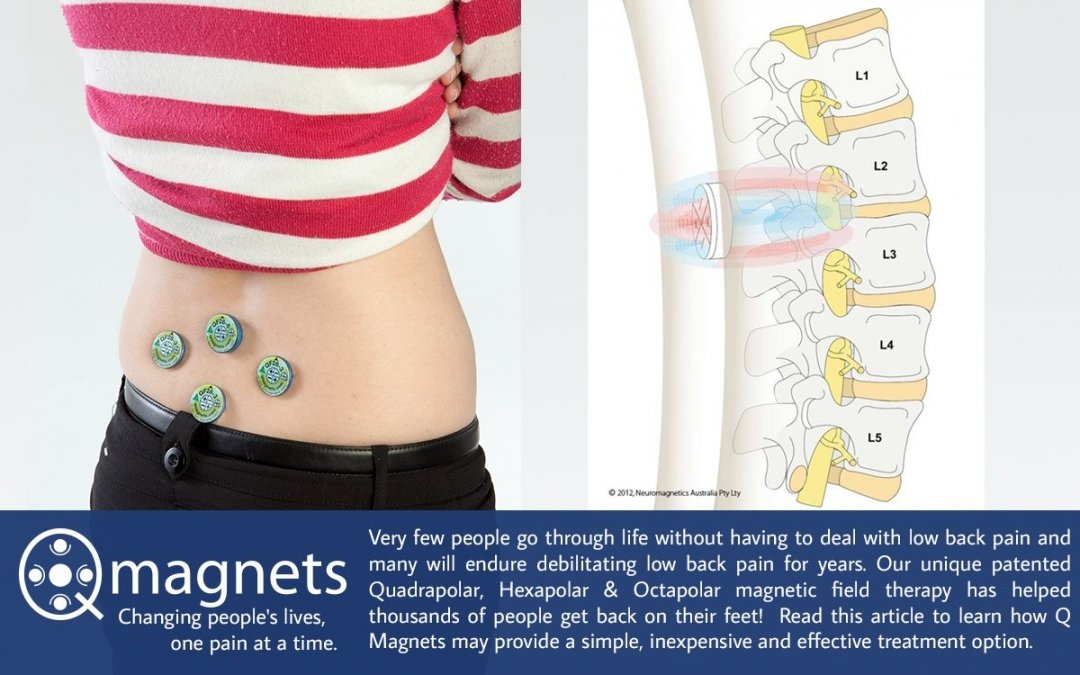 How to Use Q Magnetic Therapy to Treat Low Back Pain…