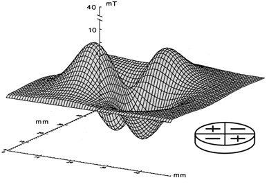 quadrapolar magnetic field gradient therapy